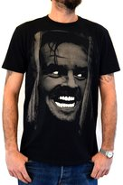 "Faces tshirt FACES Mens T-shirt ""SHINING Jack Nicholson"" Water Colors Screen Print"