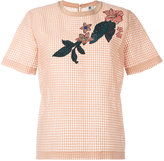 Paul Smith paneled T-shirt - women - Silk/Cotton/Polyester - 42