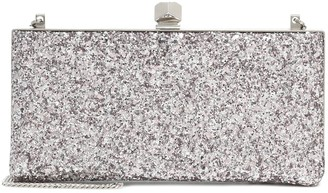Jimmy Choo Celeste Small glitter clutch