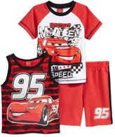 Disney T-Shirt, Tank Top & Shorts Set, Toddler & Little Boys (2T-7)