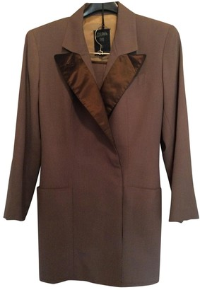 Jean Paul Gaultier Brown Wool Jacket for Women Vintage