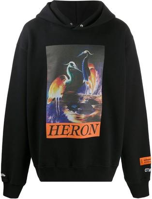 Heron Preston Graphic-Print Hoodie