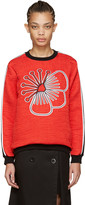 Kenzo Red Athletic Tanami Pullover