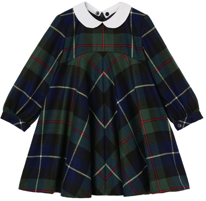 Il Gufo Tartan Dress (3-10 Years)