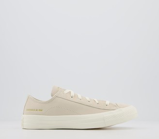 Converse All Star Low Trainers Natural Ivory Egret Egret Exclusive