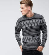 ONLY & SONS Knitted Jumper With Fairisle Knit