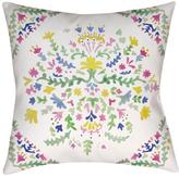 Surya Spanish Patchwork Pillow