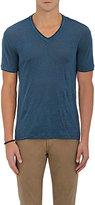 John Varvatos Men's Slub Jersey V-Neck T-Shirt