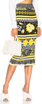 MSGM Midi Knit Skirt