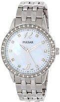 Pulsar Women's PH8051 Analog Display Japanese Quartz Silver Watch