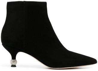 Kate Spade Sphere Heel Detail Ankle Boots