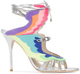 Sophia Webster fire bird metallic sandals