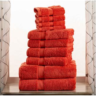 Superior 100% Egyptian Cotton 10Pc Towel Set