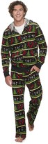 Licensed Character Men's Christmas Velour Sweatsuits