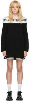 Opening Ceremony SSENSE Exclusive Black Off-The-Shoulder Dress