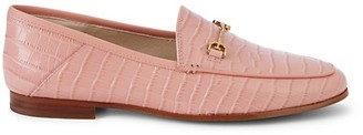 Sam Edelman Loraine Croc-Embossed Loafers