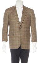 Burberry Wool Plaid Sport Coat