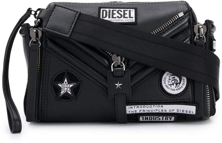 39ff104c0 Diesel Black Leather Handbags - ShopStyle