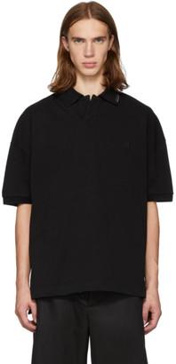 Alexander Wang Black Compact Jersey Polo