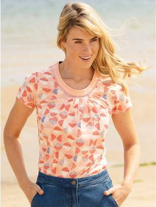 M&Co Brakeburn shell t-shirt