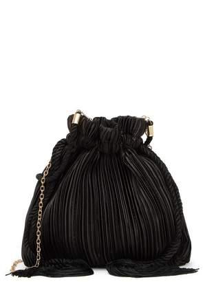 Jessica McClintock Naomi Drawstring Pouch Crossbody Bag