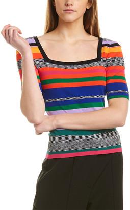 Milly Rainbow Stripe T-Shirt