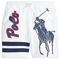 Ralph Lauren Polo Boys' Big Pony Cotton Terry Shorts - Big Kid