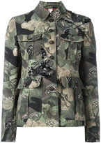 Antonio Marras camouflage military jacket