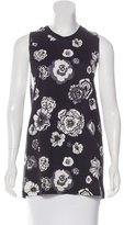 MSGM Sleeveless Floral Top