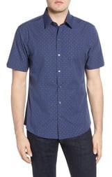 Zachary Prell Tayport Regular Fit Short Sleeve Button-Up Sport Shirt