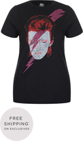 City Chic Bowie Face Tee