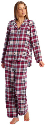 S.O.H.O New York Yarn-Dyed Woven Flannel Pyjama