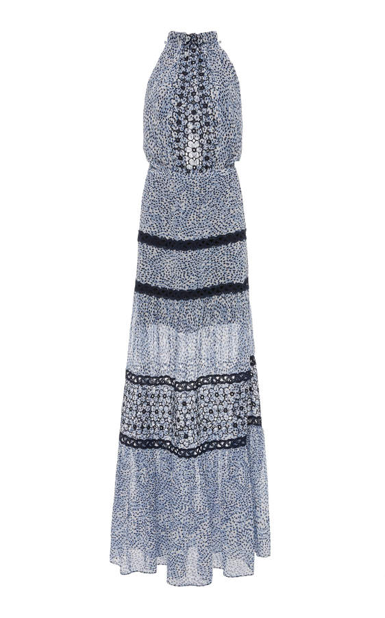 Alexis Bel Embroidered Maxi Dress