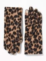 Old Navy Go-Warm Performance Fleece Gloves for Women