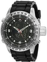 U.S. Polo Assn. Sport Men's US9047 Analog-Digital Dial Rubber Strap Watch