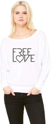 Bella Canvas Free Love Flowy