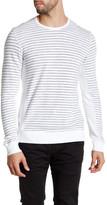Velvet by Graham & Spencer Long Sleeve Striped Sweater Tee