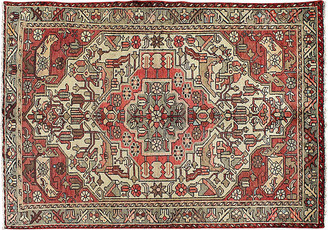 "One Kings Lane Vintage Antique Persian Hamadan Rug - 4'4"" x 6'6"" - Keivan Woven Arts - ivory/red/multi"