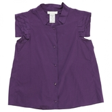 Chloé Purple Cotton Top