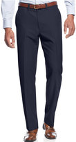 Haggar Performance Microfiber Straight Fit Dress Pants