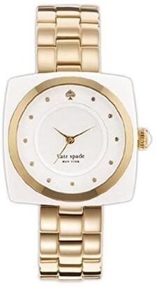 kate spade new york Women's 1YRU0058 Analog Display Japanese Quartz Gold Watch