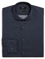 Boss Jason Geo-Jacquard Slim Fit Dress Shirt