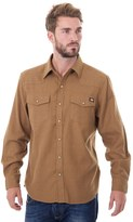 Dickies Big & Tall Solid Flannel Shirt