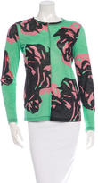 Proenza Schouler Floral Print Long Sleeve Top