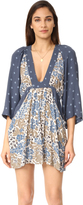 Free People Tululla Printed Mini Dress