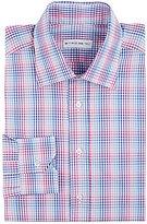 Etro Men's Plaid Dress Shirt-PINK