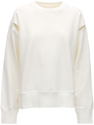 MM6 MAISON MARGIELA Embroidered Cotton Sweatshirt