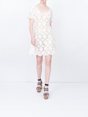 LHD b.b. crochet dress