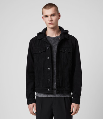 AllSaints Burnby Denim Jacket