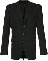 Ann Demeulemeester flap pockets blazer - men - Cotton/Spandex/Elastane/Rayon/Virgin Wool - S